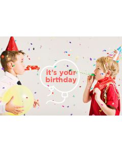 Birthday E-Gift Card